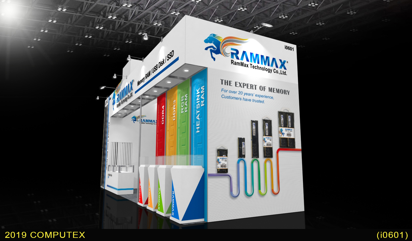 RamMax at COMPUTEX TAIPEI 2019 - WHAT'S NEW - RamMax